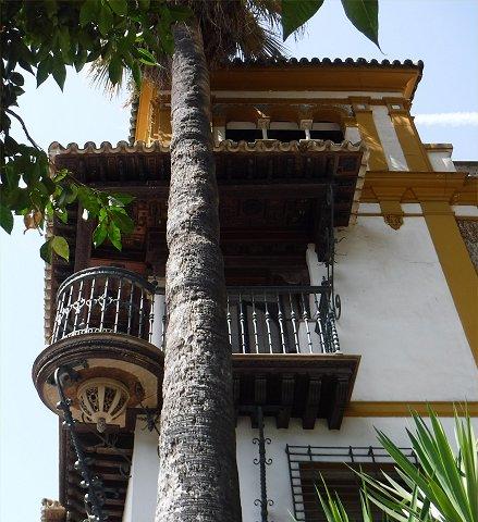 Balcony in Seville.