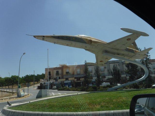 Spanish Northrop F-5 freedom fighter.