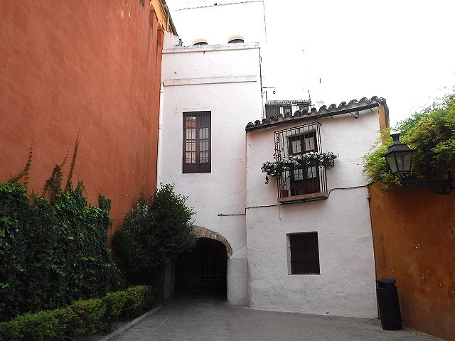 Jewish quarter Seville.