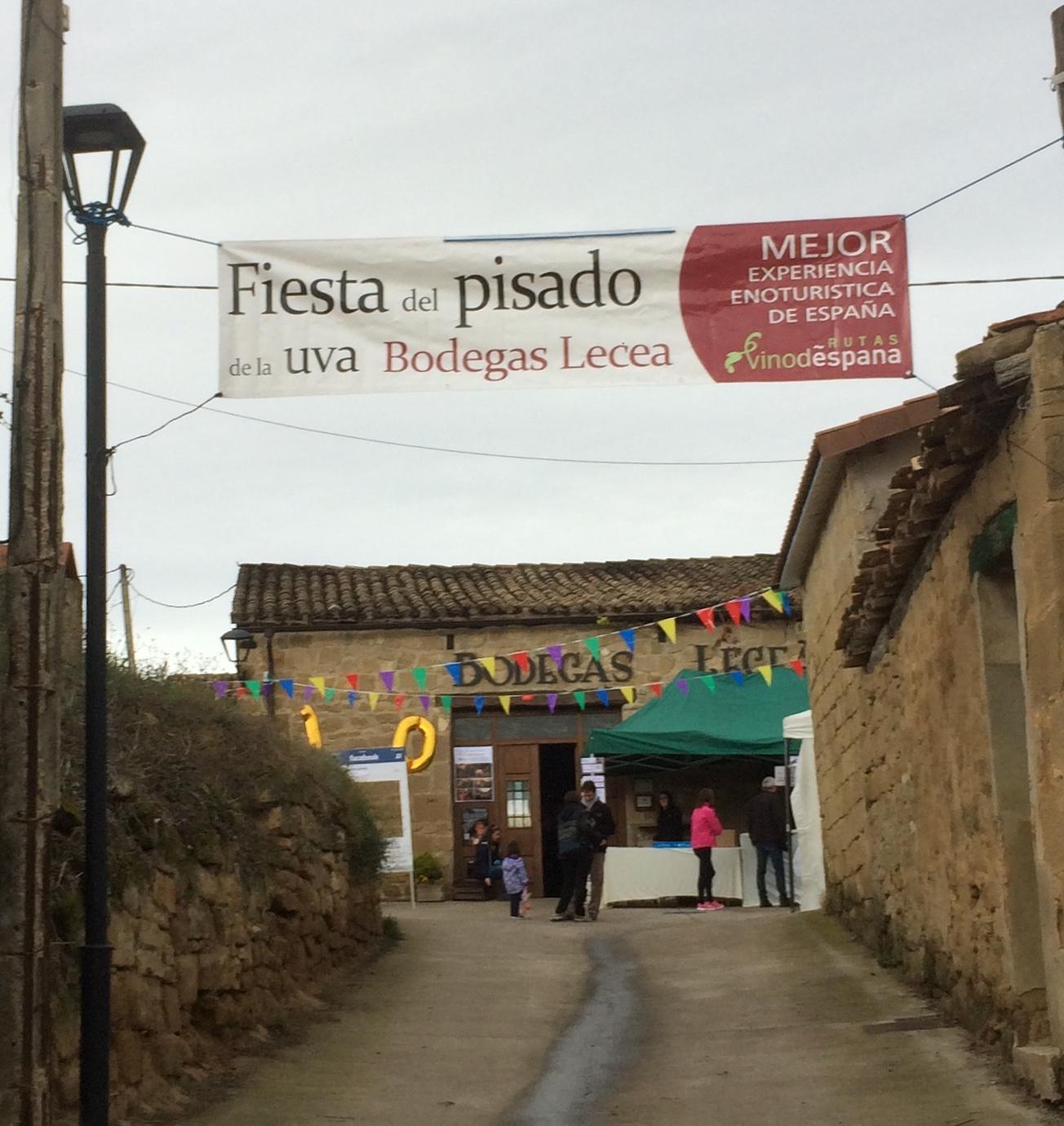 Bodegas Lecea in San Asensio in the Rioja region.