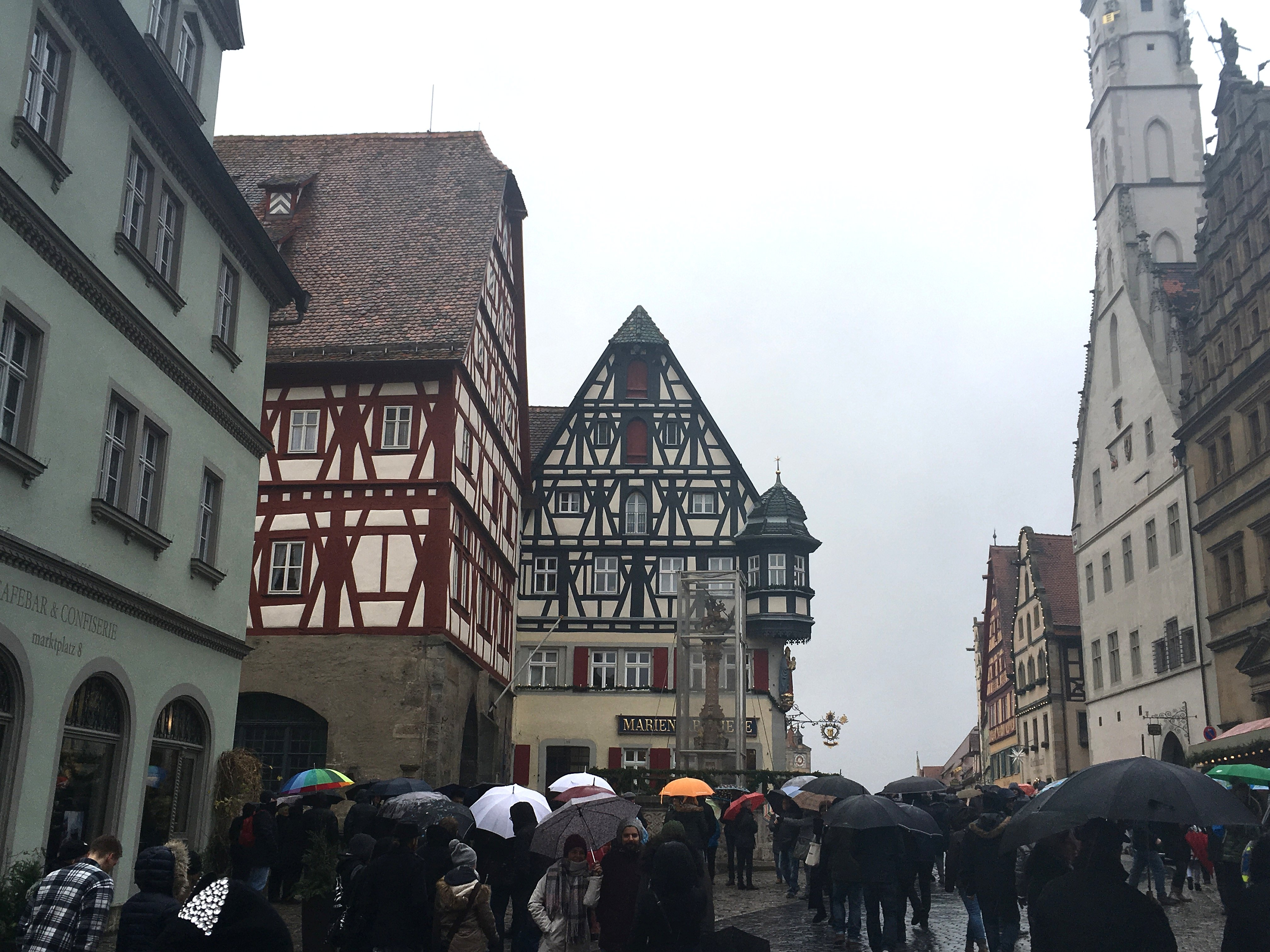 A rainy day in Rothenberg.