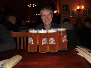 Plenty of beer.