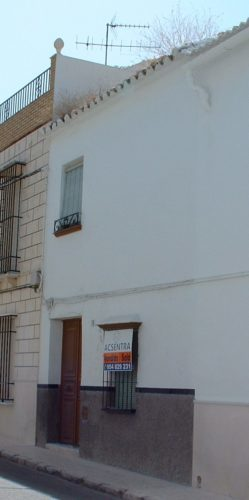 The Spanish town house we bought in El Nacarino.