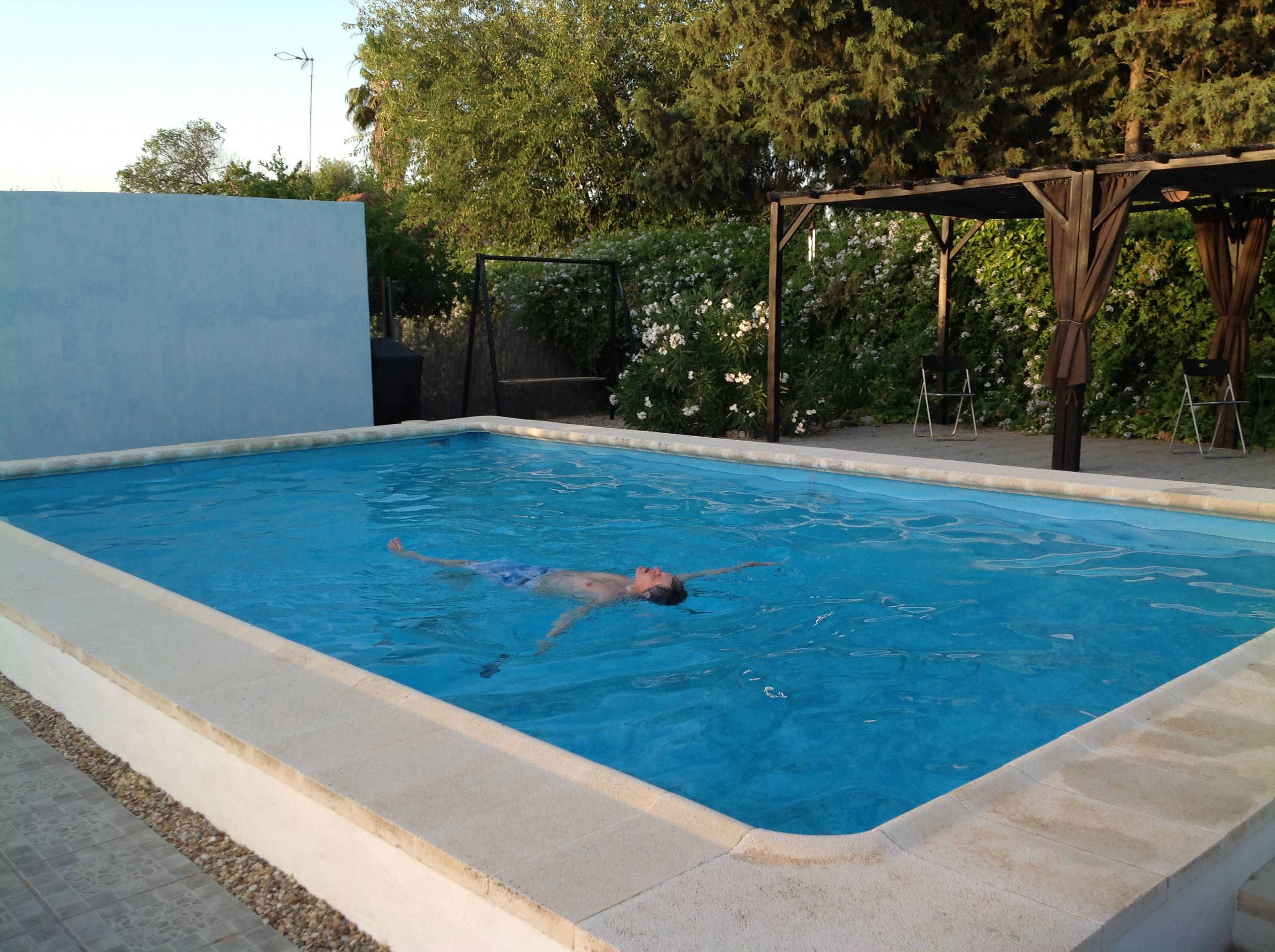Acerico pool.