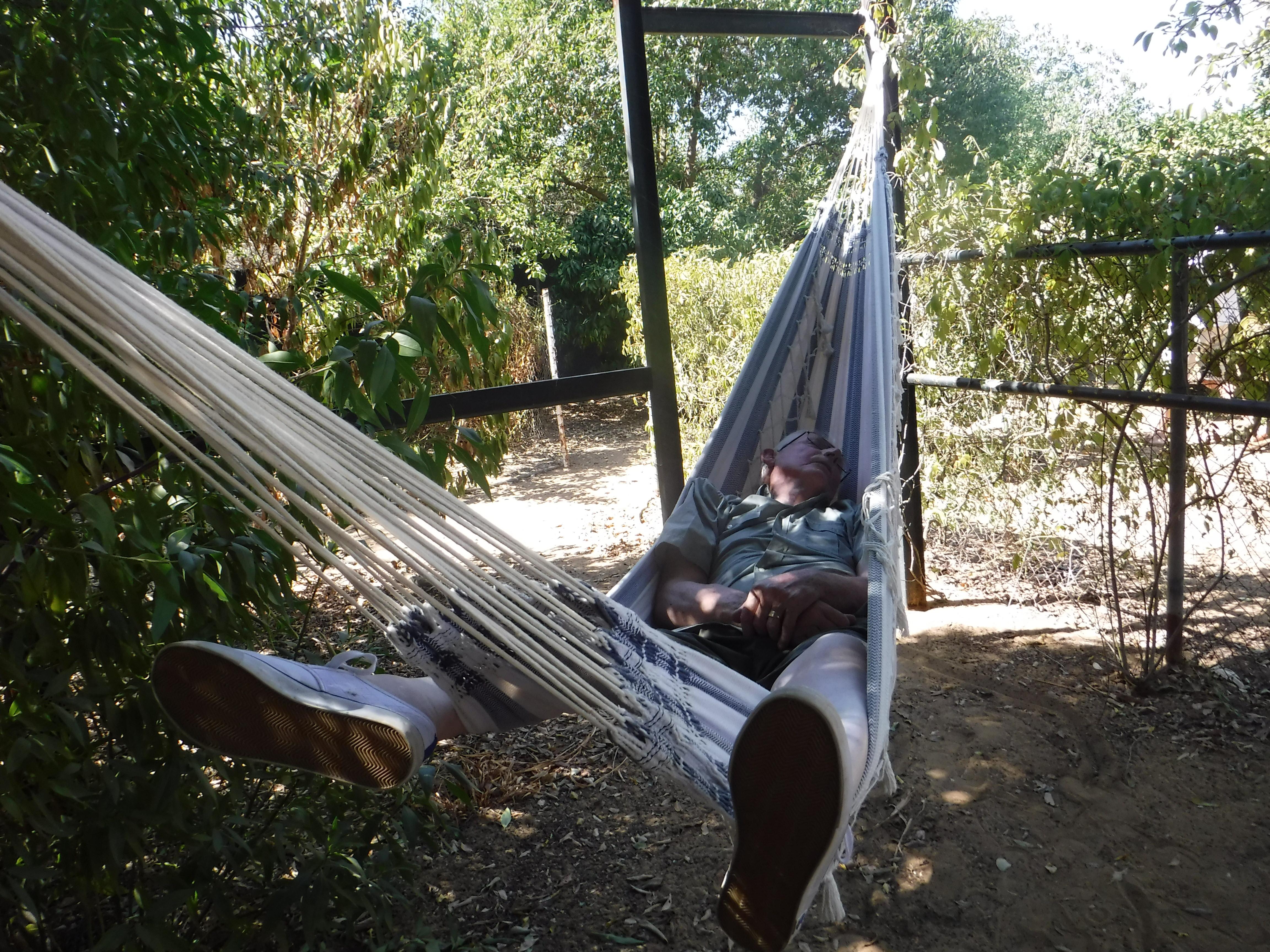 Grandpa chillin in Acerico.