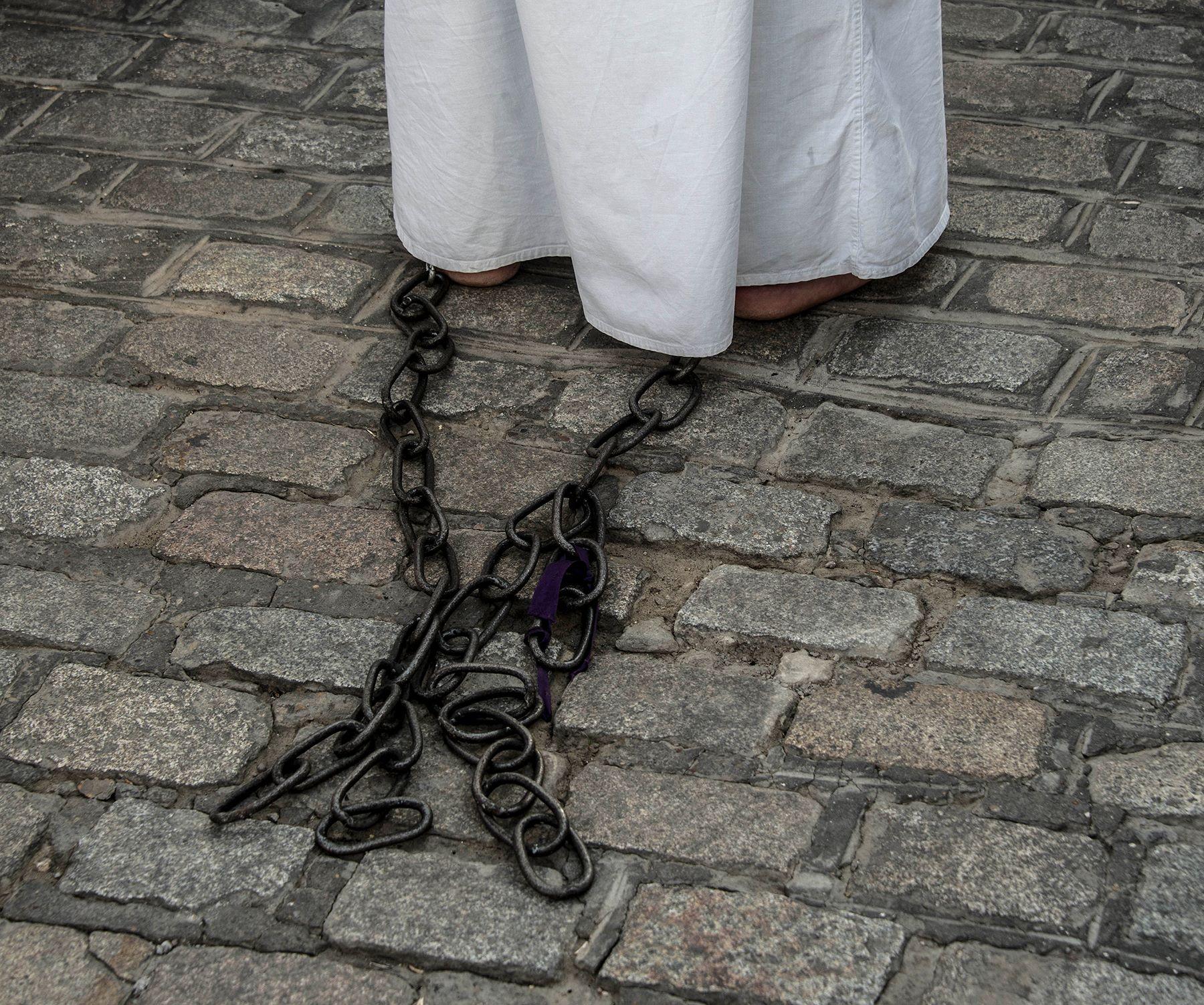 Penitents, not the Klan.