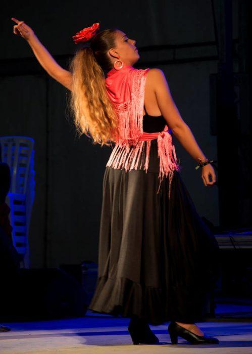 The Flamenco festival.