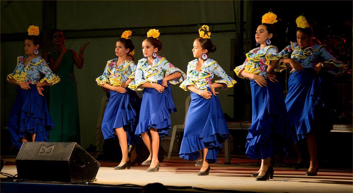 The Flamenco festival in Ecija.