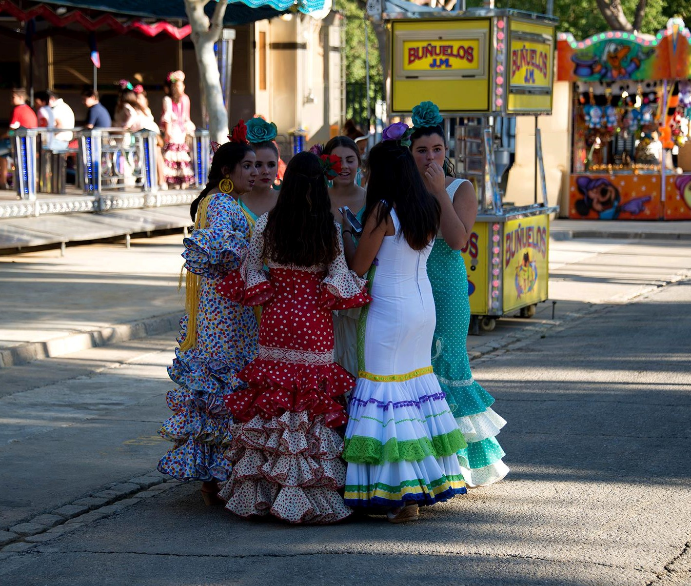 Lovely señoritas.
