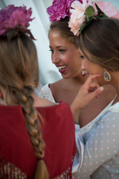 Lovely señoritas in Ecija.