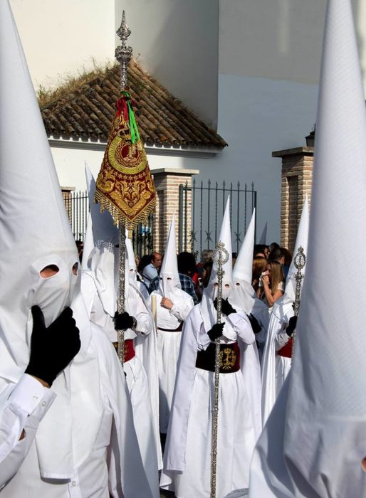 Penitents - not the Klan.