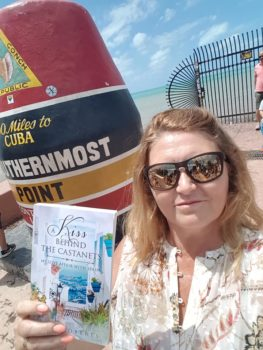 Donna in the conch republic of Key West