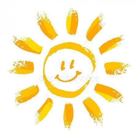 Jean Roberts smiling sun.