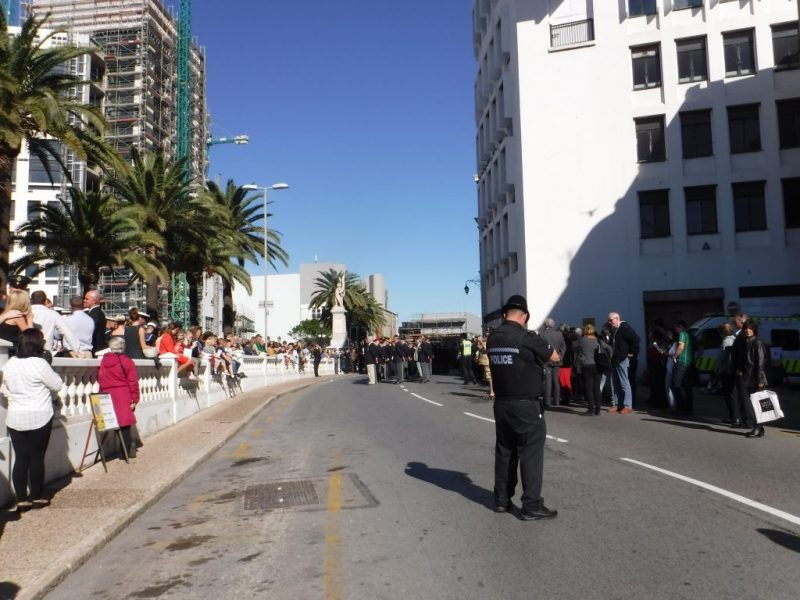 Gibraltar remembrance day