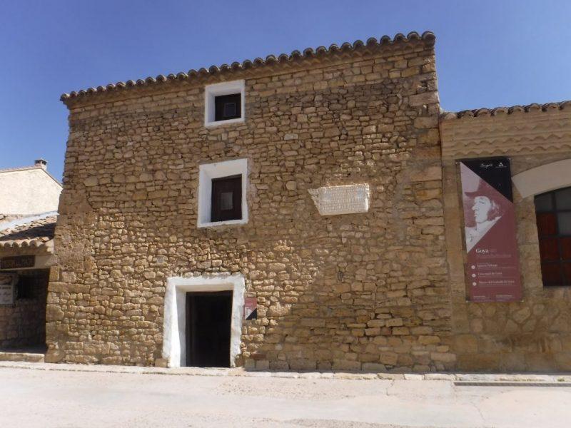 Goya birth place.