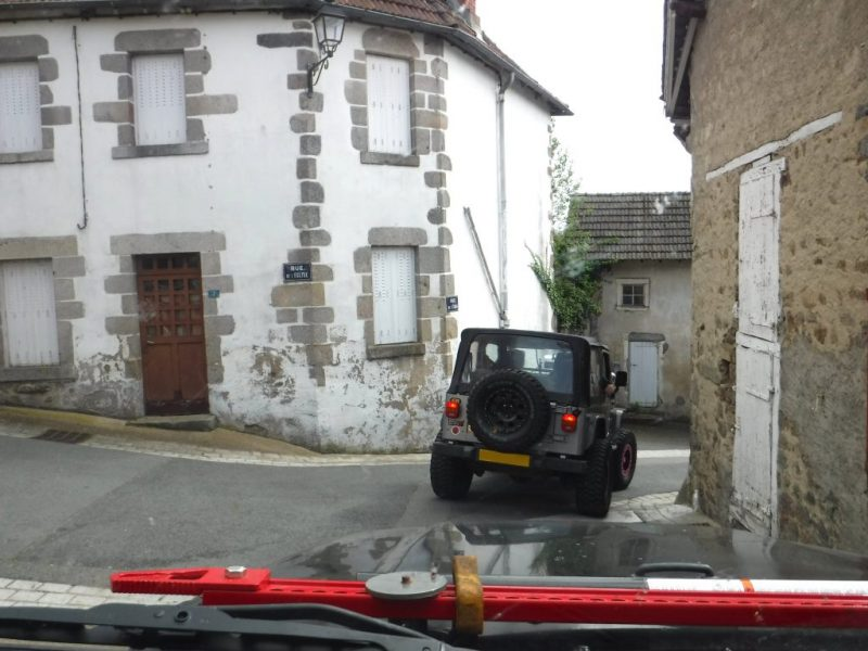 Jeeps in france