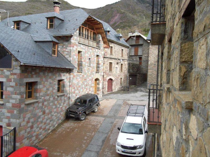 The Spanish border village of Plan.