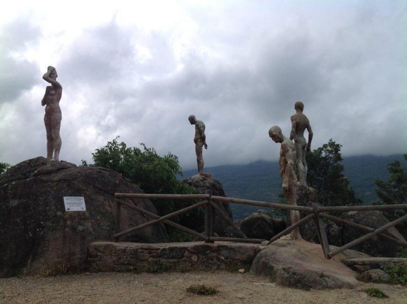 Spanish civil war memorial.