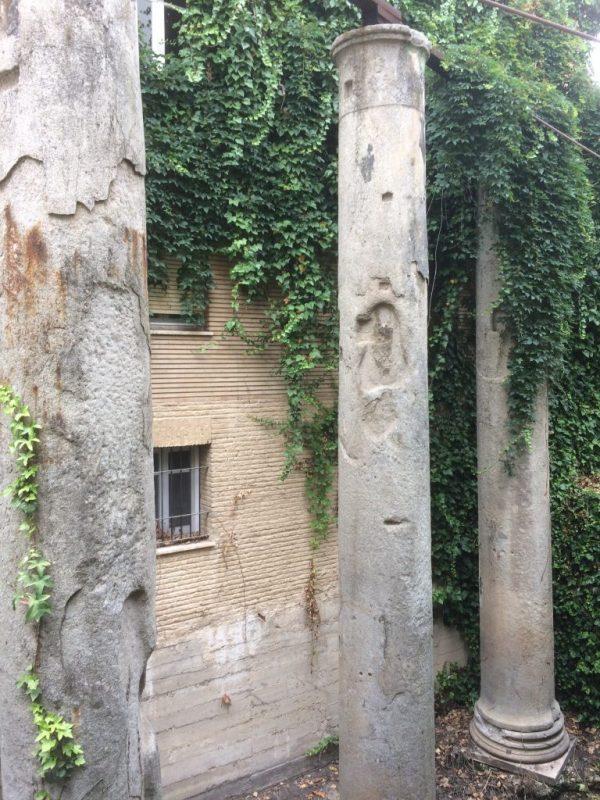 Roman Columns in Seville.