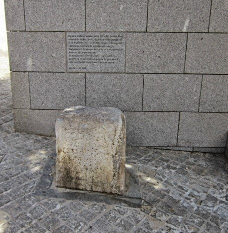 The stone of tears.